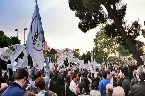 """I cittadini del M5S in piazza. Intervista a """"La Voce del Paese"""" (ed. Noicattaro) del 04.01.2013"""
