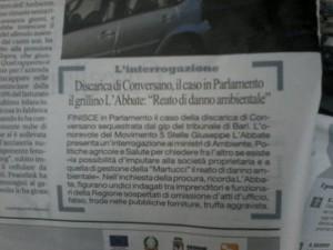 La Repubblica Bari - 28.05.2013