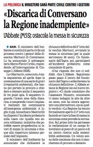 La Gazzetta del Mezzogiorno - 18.09.2013