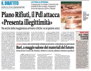 La Gazzetta del Mezzogiorno - 20.09.2013