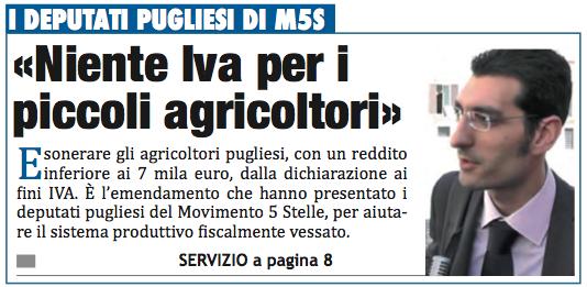 Il Mattino di Foggia - 22.01.2014