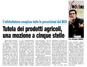 Il Mattino di Foggia - 15.01.2014