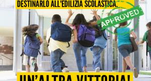 Con la dichiarazione dei redditi entra in vigore l'emendamento del M5S per destinare risorse alla risistemazione dell'edilizia scolastica italiana
