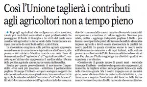 La Gazzetta del Mezzogiorno - 20.05.2014