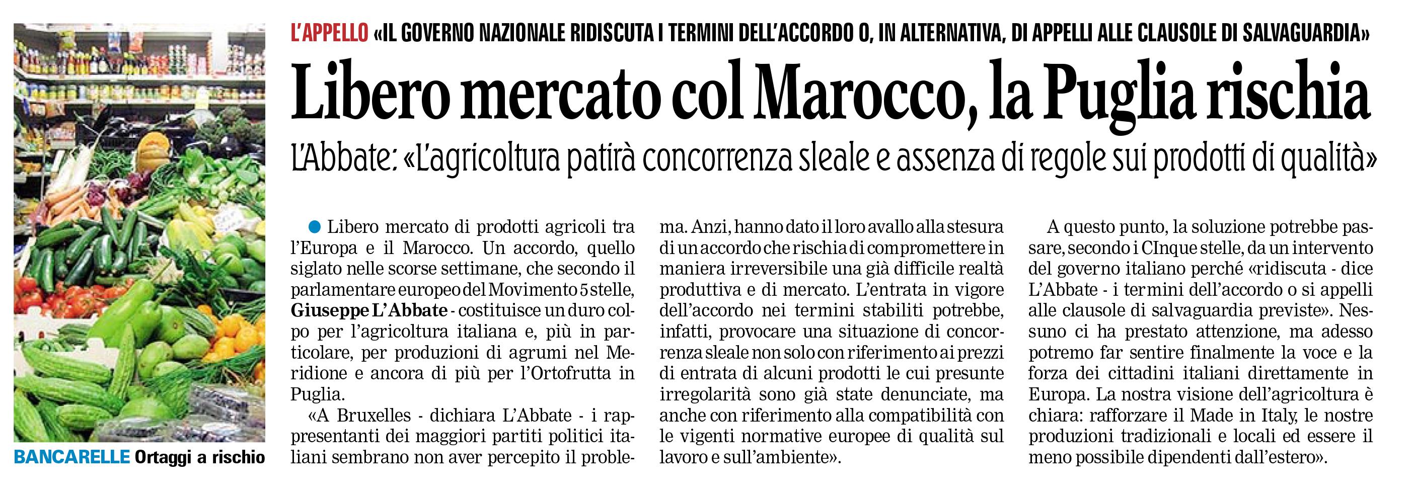 La Gazzetta del Mezzogiorno - 23.05.2014