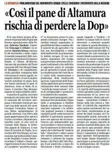 La Gazzetta del Mezzogiorno - 27.06.2014