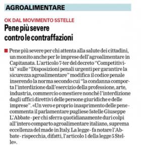 La Gazzetta del Mezzogiorno - 31.07.2014