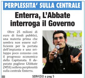Il Mattino di Foggia - 09.07.2014