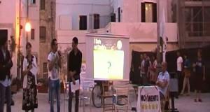Diario dei Cittadini con i portavoce 5 Stelle Giuseppe L'Abbate ed Emanuele Scagliusi a Polignano il 4 agosto