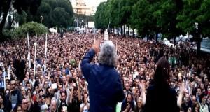Il megafono del M5S Beppe Grillo sarà in Puglia, a Bari, il 7 maggio