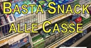 Snack e dolci banditi in vicinanza delle casse dei supermercati, già realtà in Inghilterra. Interrogazione M5S
