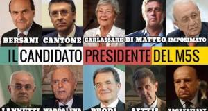 11 i nomi per il portavoce Presidente in Puglia mentre una rosa di 10 personalità per il Quirinale. C'è bisogno di un segnale forte di discontinuità