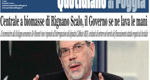 Il viceministro allo Sviluppo economico De Vincenti risponde all'interrogazione M5S sulla centrale a biomasse di Borgo Eridania ma se ne lava le mani