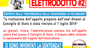 """Il resoconto del settimanale """"BLU"""" della vicenda Elettrodotto Enel Albania-Italia a sei mesi dal decreto ministeriale che ne ha sancito la realizzazione"""