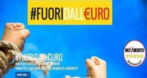 Prende il via la promozione del referendum consultivo sull'euro, la moneta unica che ha annientato l'economia italiana