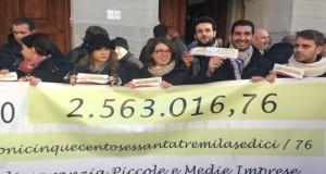 Dopo aver restituito quasi 25mila euro, con l'amico e collega Emanuele Scagliusi abbiamo conferito al Fondo PMI circa 40mila euro