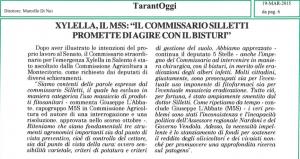 Taranto Oggi - 19.03.2015