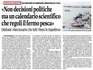 La Gazzetta del Mezzogiorno - Ed. Capitanata - 26.04.2015