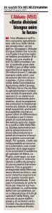 La Gazzetta del Mezzogiorno - 10.06.2015