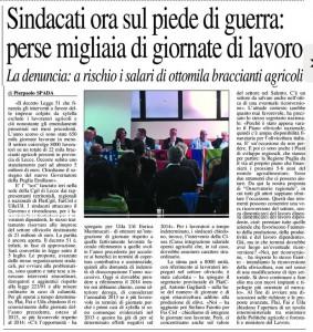 Il Nuovo Quotidiano di Puglia - 22.06.2015