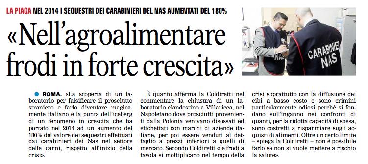 La Gazzetta del Mezzogiorno - 29.06.2015
