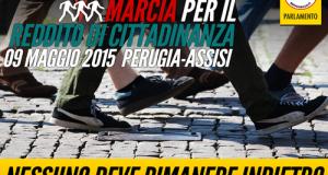 Ho partecipato alla marcia da Perugia ad Assisi per richiedere il reddito di cittadinanza, esistente in quasi tutta Europa, che ridà dignità agli italiani