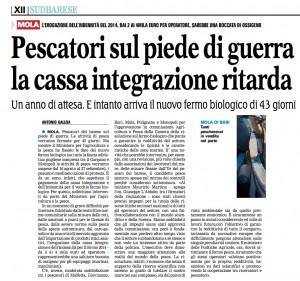 La Gazzetta del Mezzogiorno - 12.07.2015