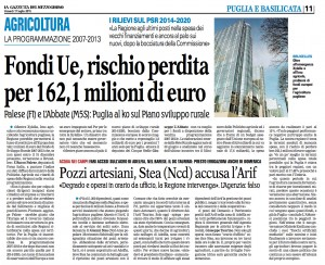 La Gazzetta del Mezzogiorno - 17.07.2015