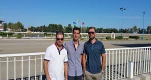 Incontro con le categorie dell' ippica pugliese presso l'ippodromo Paolo VI di Taranto per concertare un'azione comune per il rilancio del settore