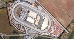 Ispezione del locale meet up del Movimento 5 Stelle con i parlamentari L'Abbate e Gagnarli (M5S) all'ippodromo di Follonica (Grosseto)