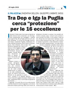 La Gazzetta Economica - 29.07.2015