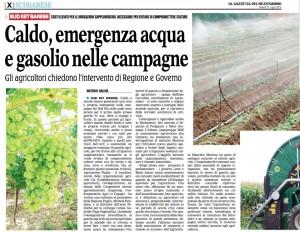 La Gazzetta del Mezzogiorno - 31.07.2015