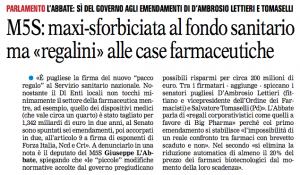La Gazzetta del Mezzogiorno - 06.082015