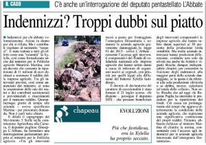 Il Nuovo Quotidiano di Puglia - 29.07.2015