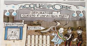Ispezione dei parlamentari M5S al depuratore di Polignano a Mare (BA). Ritardi dal Comune, AQP finirà i lavori solo a novembre