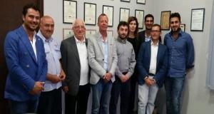 Incontro tra i parlamentari 5 Stelle L'Abbate, Gagnarli e Gallinella e gli imprenditori del pomodoro di Salerno e della cooperativa Op Mediterraneo