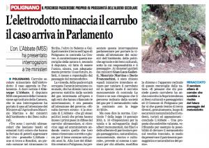 La Gazzetta del Mezzogiorno - 25.10.2015