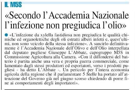 Il Nuovo Quotidiano di Puglia - 30.10.201