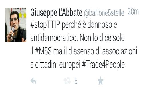 Contro l'accordo TTIP tra Ue-Usa oltre 3 milioni di firme raccolte, più di 250.000 persone in piazza a Berlino e la protesta in rete con il tweet storming