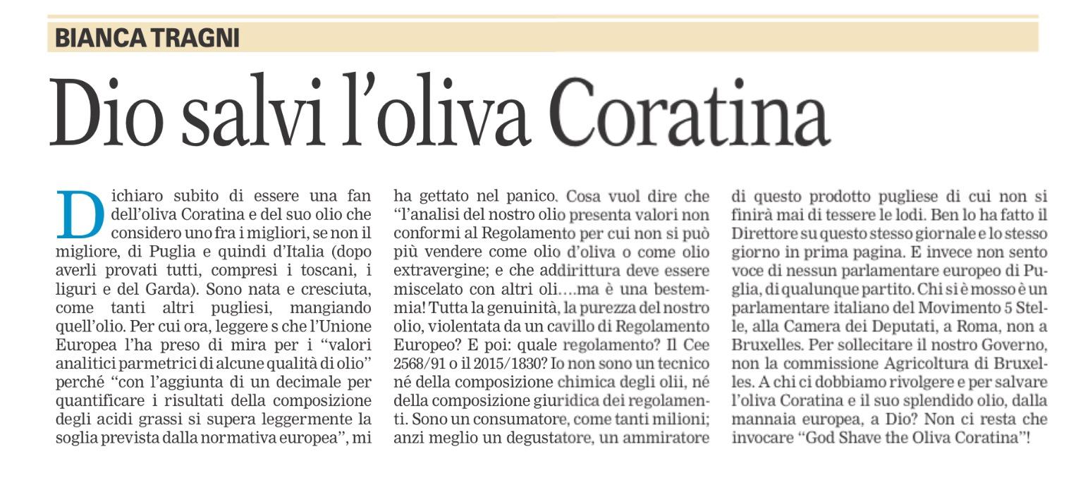 La Gazzetta del Mezzogiorno - 02.02.2016