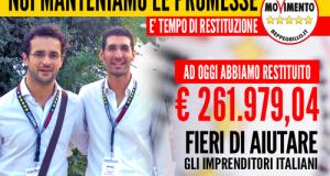 La restituzione dei 5 Stelle si trasforma, attraverso il microcredito, in nuove imprese anche in Puglia