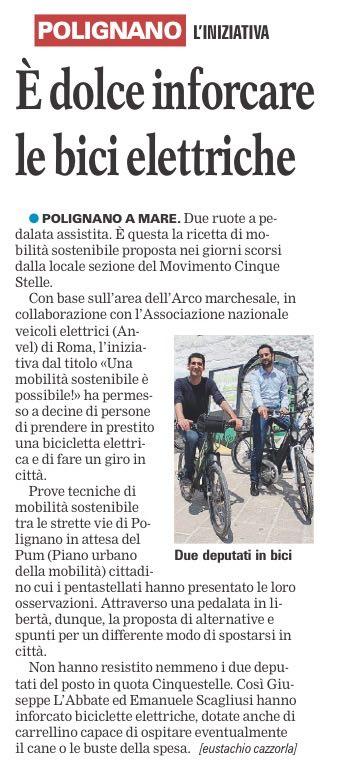 La Gazzetta del Mezzogiorno - 09.05.2016