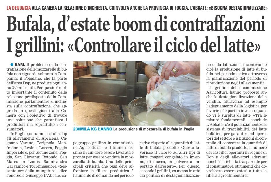 La Gazzetta del Mezzogiorno - 06.06.2016