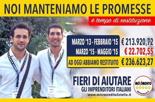 Da Polignano altri 23mila euro al fondo per il sostegno delle PMI per un totale di oltre 235mila euro. I primi esempi di finanziamento in Puglia