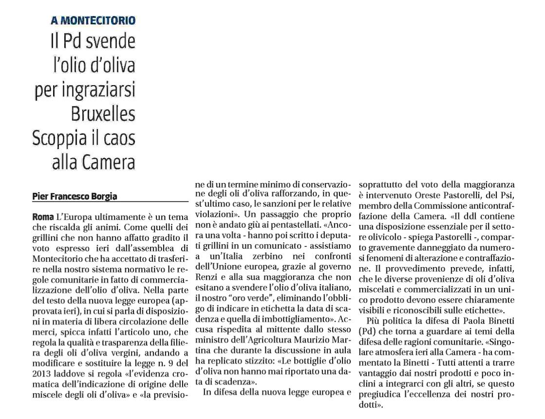 Olio La Data Di Scadenza Diventa Discrezionale Giuseppe