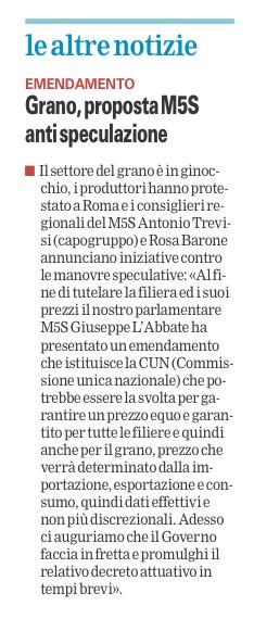 La Gazzetta del Mezzogiorno - 24.07.2016