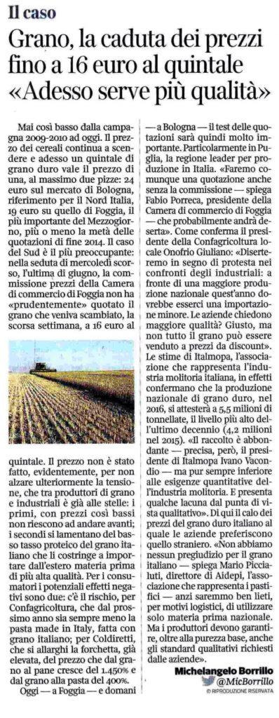 Corriere della Sera - 06.07.2016