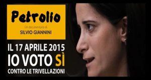 Conferenza stampa di presentazione del documentario Petrolio di Silvio Giannini