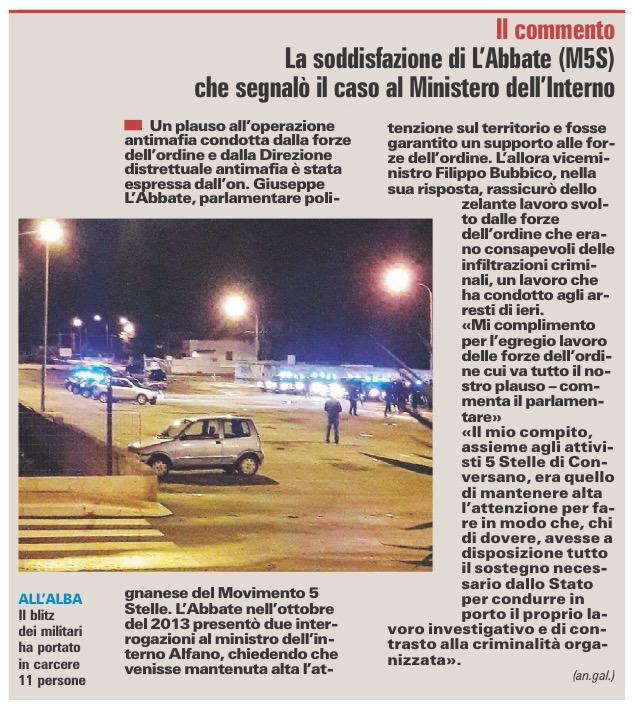 La Gazzetta del Mezzogiorno - 29.12.2016