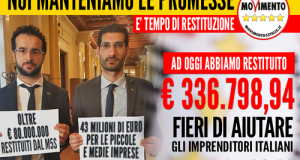 Grazie all'ultima rendicontazione, i due parlamentari 5 Stelle di Polignano sono arrivati a restituire una cifra imponente